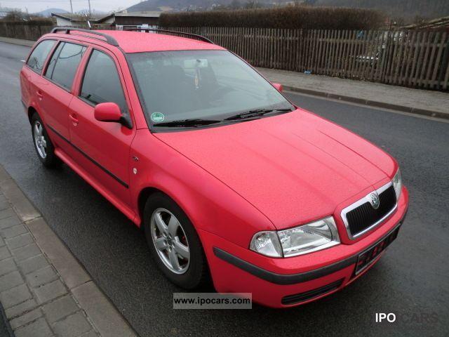 2001 Skoda  Octavia Combi Elegance 1.8 T / € 4 / Klimaaut Estate Car Used vehicle photo