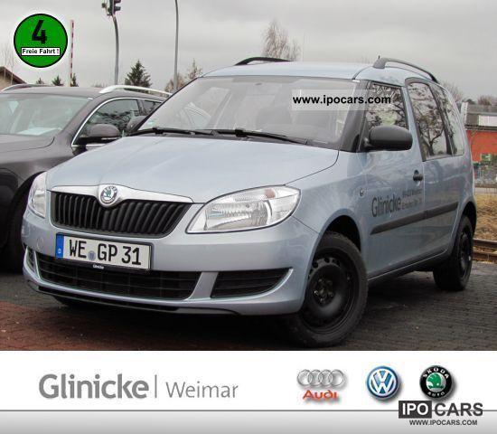 2011 Skoda  Roomster 1.2 HTP Plus Edition SEAT HEATING Van / Minibus Used vehicle photo