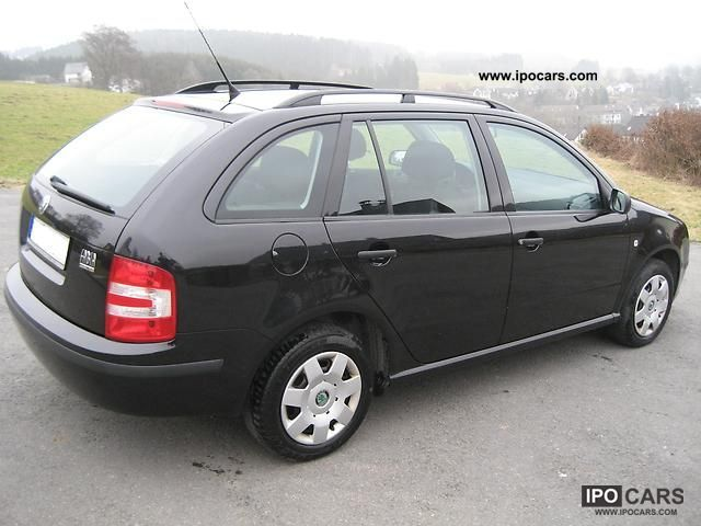 2008 skoda fabia combi 1 4 16v cool edition car photo and specs. Black Bedroom Furniture Sets. Home Design Ideas