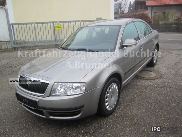 2006 Skoda  Superb 2.0 TDI DPF 1.Hand / TOP!!! Limousine Used vehicle photo