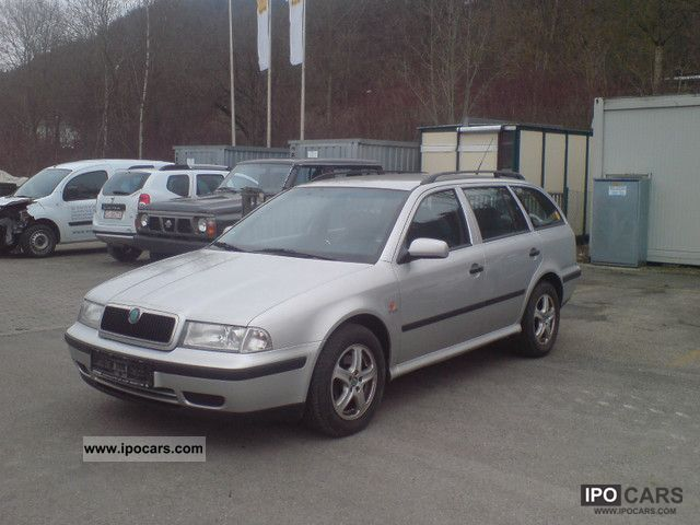 2000 Skoda  Combi Octavia 2.0 SLX, Euro 4 Estate Car Used vehicle photo