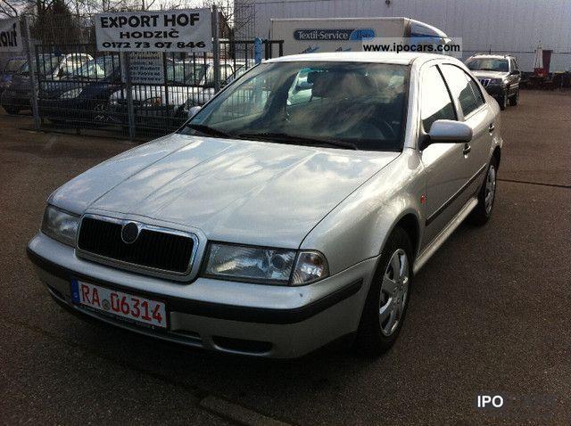 2000 skoda octavia 1 6 slx car photo and specs for Interieur skoda octavia 2000