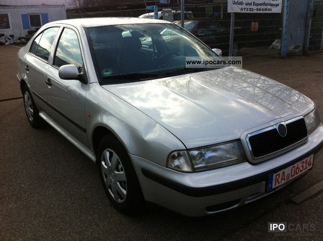 2000 skoda octavia 1 6 slx car photo and specs. Black Bedroom Furniture Sets. Home Design Ideas