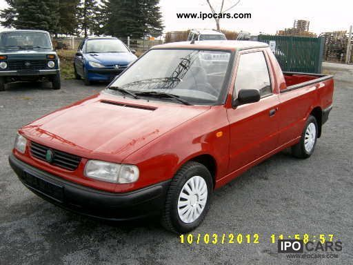 1998 skoda pick up 1 3 petrol only 63 tkm top car photo and specs. Black Bedroom Furniture Sets. Home Design Ideas