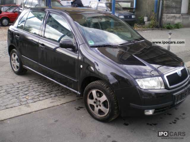 2003 skoda fabia 1 4 16v automatic climate alus. Black Bedroom Furniture Sets. Home Design Ideas