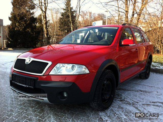 2007 skoda octavia scout 4x4 car photo and specs. Black Bedroom Furniture Sets. Home Design Ideas
