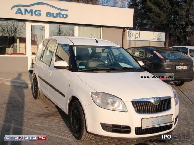 2008 Skoda  Roomster 1.4 TDI PREMIA, POLSKA SALON, Small Car Used vehicle photo