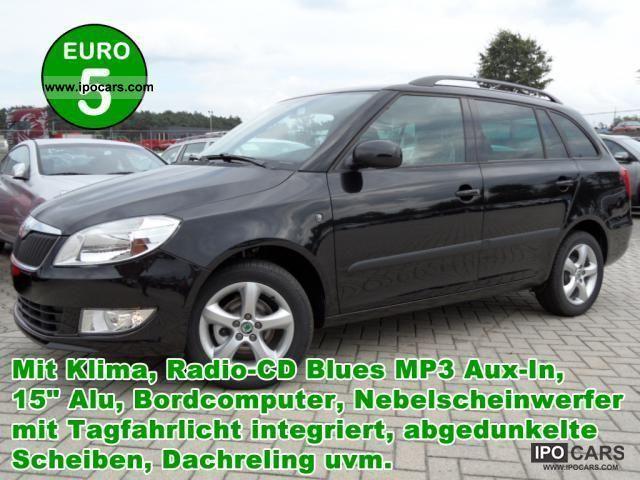 2011 Skoda  Fabia 1.2 TSI Ambition climate RadioCD Bl .. Estate Car Used vehicle photo