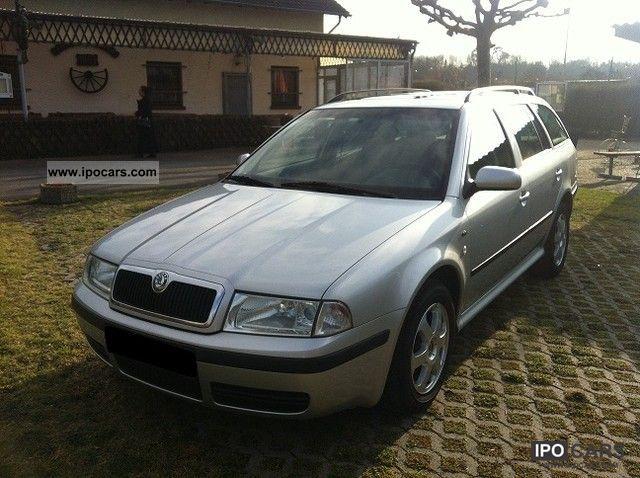2000 Skoda  Octavia Combi 1.9 TDI Ambiente 1.Hand € 4 Estate Car Used vehicle photo