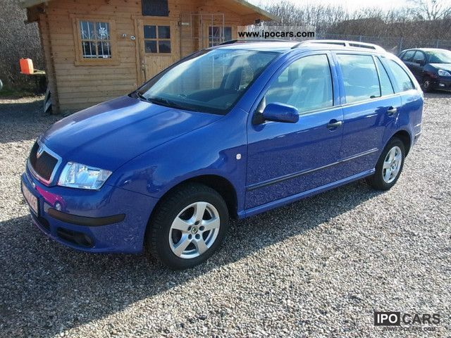 2004 skoda fabia combi 1 4 16v elegance car photo and specs. Black Bedroom Furniture Sets. Home Design Ideas