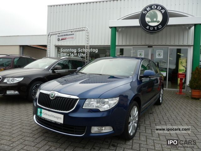 2008 Skoda  Superb 2.0 TDI PD Elegance, 1st Hand, Navi, Xenon Limousine Used vehicle photo