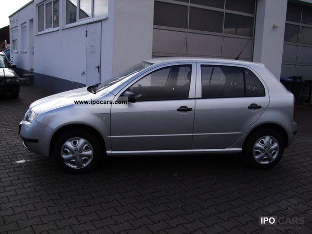 2004 skoda fabia 1 9 sdi exact car photo and specs. Black Bedroom Furniture Sets. Home Design Ideas