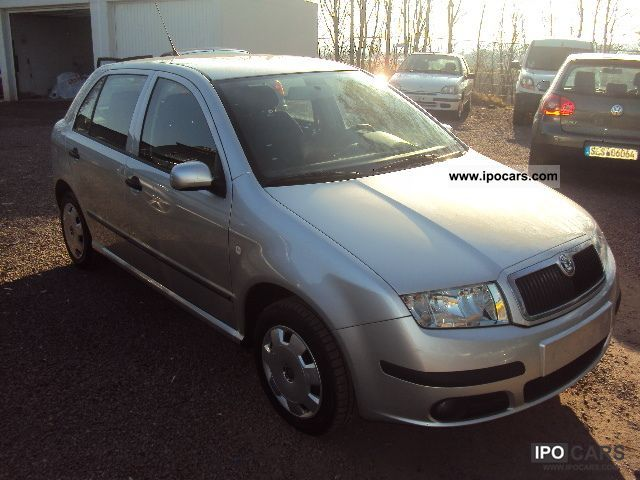 2005 skoda fabia 1 4 tdi car photo and specs. Black Bedroom Furniture Sets. Home Design Ideas