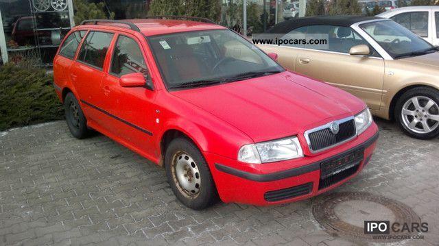 2001 Skoda  Octavia Combi 2.0 Climate Sitzheiz Tüv € 4 Estate Car Used vehicle photo