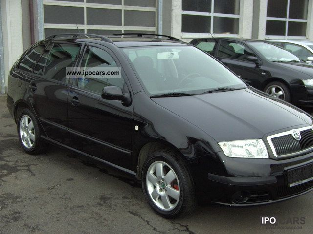 2005 skoda fabia combi 2 0 mod 2006 car photo and specs. Black Bedroom Furniture Sets. Home Design Ideas