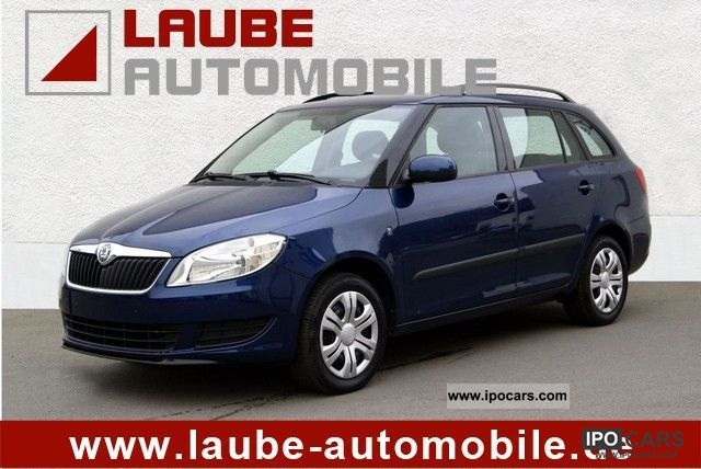 2010 Skoda  Fabia II 1.4 16v facelift regional price Estate Car Used vehicle photo