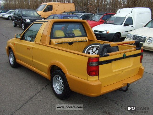 1998 skoda pick up fun new technical approval car photo. Black Bedroom Furniture Sets. Home Design Ideas
