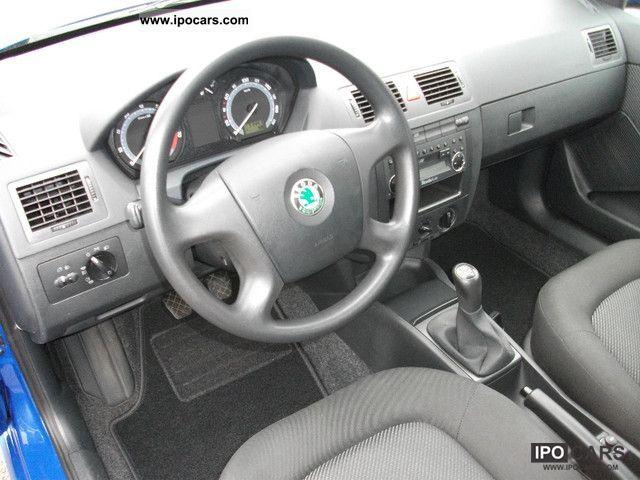 2005 skoda fabia 1.4 16v ambiente - car photo and specs