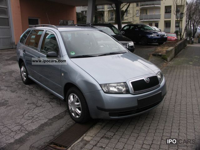 2004 skoda fabia combi 1 2 htp car photo and specs. Black Bedroom Furniture Sets. Home Design Ideas