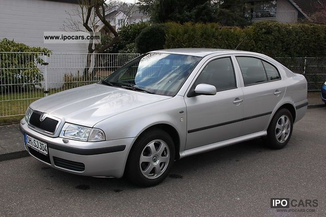 2003 Skoda  Octavia Elegance 2.0 * PDC * xenon * 2014 * TUV Limousine Used vehicle photo