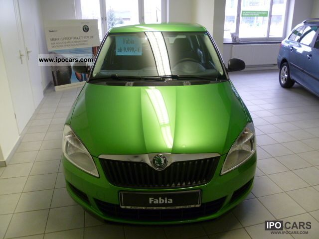 2011 Skoda  Fabia 1.2 HTP COOL EDITION climate Small Car New vehicle photo