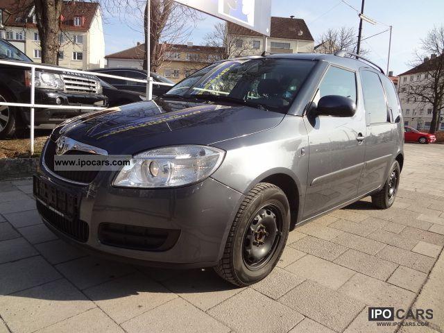 2007 Skoda  ROOMSTER 1.4 16V 1.HAND * CD-R * el.FH * AIR * 8xRF * Van / Minibus Used vehicle photo