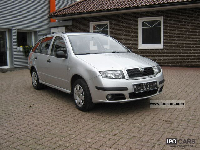 2006 skoda fabia combi 1 4 tdi classic car photo and specs. Black Bedroom Furniture Sets. Home Design Ideas