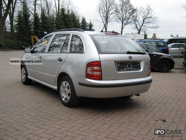 2006 skoda fabia 1.4 related infomation,specifications - weili
