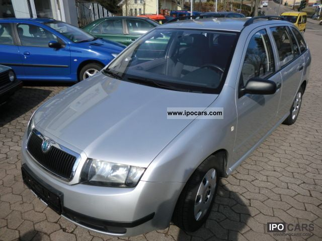 2003 Skoda  Fabia Combi 1.4 16V Classic Estate Car Used vehicle photo