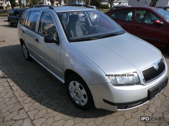 2003 skoda fabia combi 1 4 16v classic car photo and specs. Black Bedroom Furniture Sets. Home Design Ideas