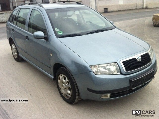 2003 skoda fabia 1 4 16v combi comfort car photo and specs. Black Bedroom Furniture Sets. Home Design Ideas