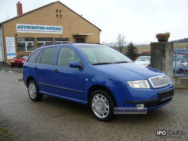 2003 Skoda  Fabia Combi 1.4 16V Extra Estate Car Used vehicle photo