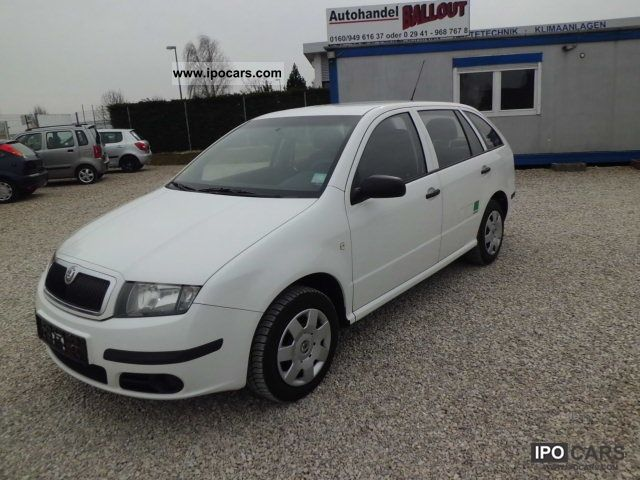 2004 skoda fabia combi 1 9 sdi classic air euro3 car photo and specs. Black Bedroom Furniture Sets. Home Design Ideas