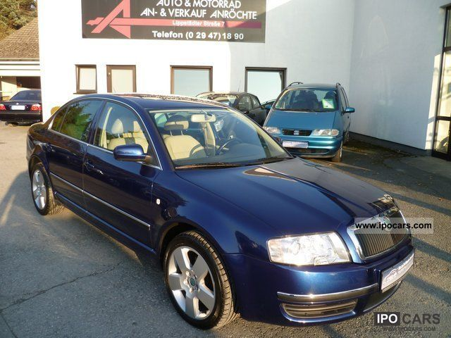 2006 Skoda  Superb 2.5 TDI Elegance Full Limousine Used vehicle photo