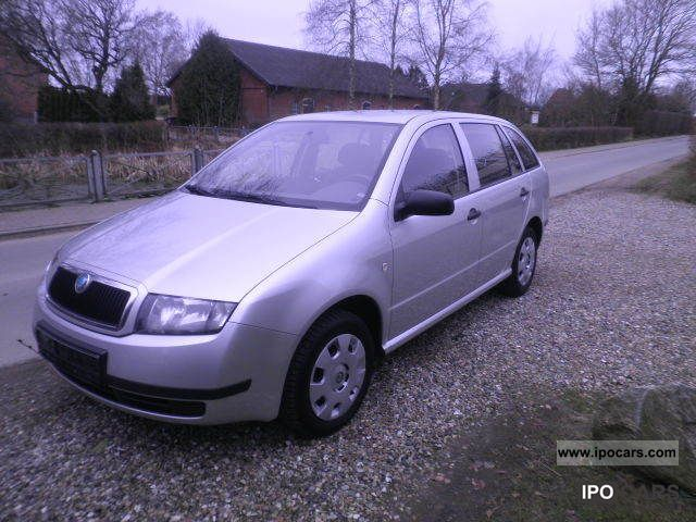 2003 skoda fabia combi 1 9 sdi air car photo and specs. Black Bedroom Furniture Sets. Home Design Ideas