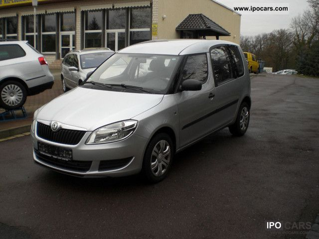 2010 Skoda  Roomster 1.6 TDI PLUS EDITION.Neuesmodel Van / Minibus Used vehicle photo