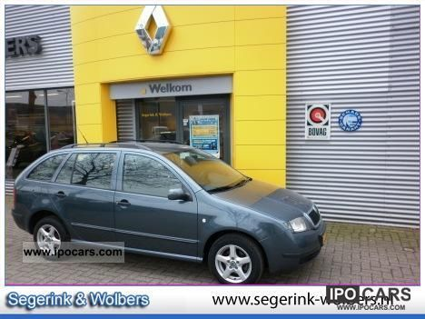 2004 Skoda  Fabia Combi 1.4 Comfort * NIEUWE APK / CRUISE CON Estate Car Used vehicle photo