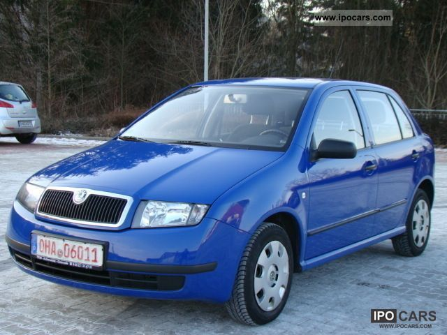 2004 Skoda  Fabia 1.2 HTP * 1.Hand * Air conditioning * Small Car Used vehicle photo