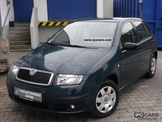2005 skoda fabia 1 2 htp classic from 1 hand car photo and specs. Black Bedroom Furniture Sets. Home Design Ideas