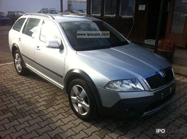 2009 skoda octavia scout 2 0 fsi 4x4 car photo and specs. Black Bedroom Furniture Sets. Home Design Ideas