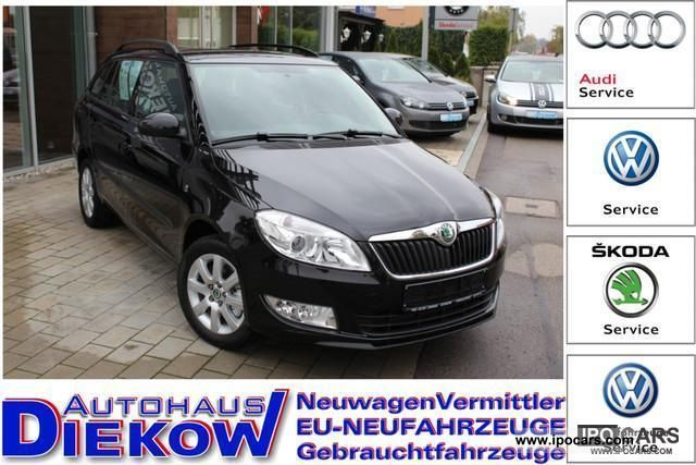 2011 Skoda  Fabia Combi 77kW TSI ESP ALU PDC NSW 23% u.UPE Estate Car New vehicle photo