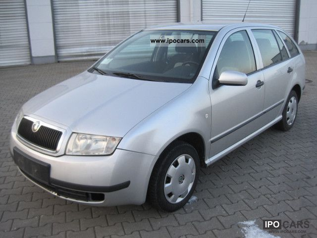 2004 skoda fabia combi 1 4 16v automatic car photo and. Black Bedroom Furniture Sets. Home Design Ideas