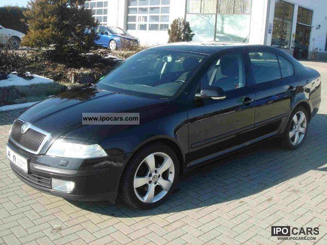 2005 Skoda Octavia Ii 20 Tdi Elegance Lim Xenon Aluminum 17 Car
