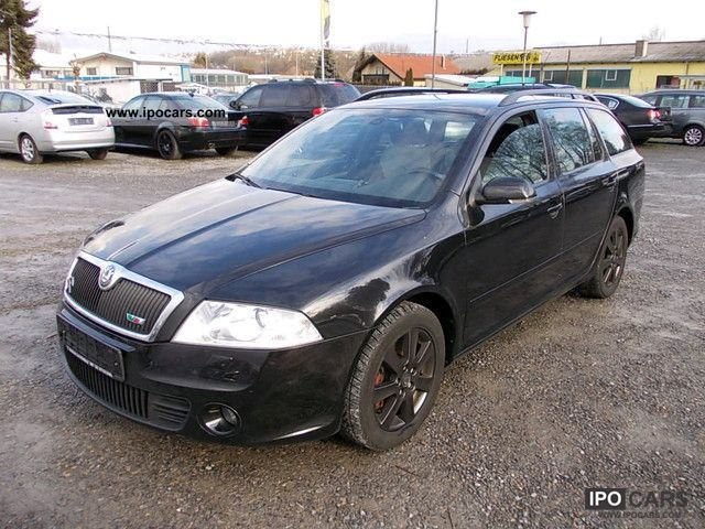 2008 skoda octavia combi 2 0 tdi rs xenon leather pdc car photo and specs. Black Bedroom Furniture Sets. Home Design Ideas