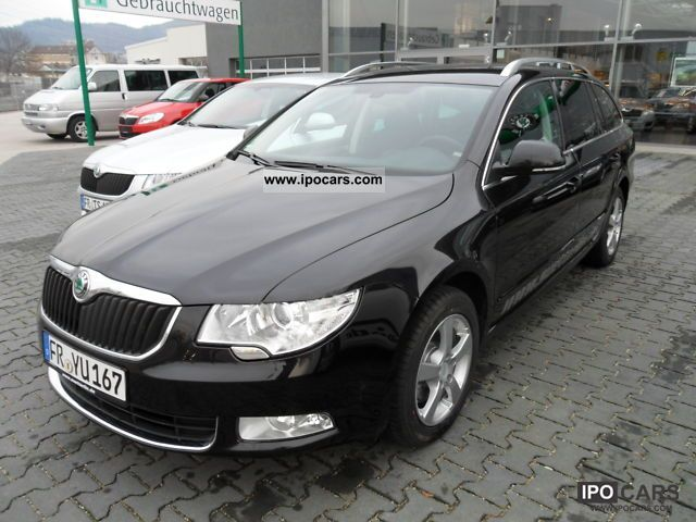 2010 skoda superb combi 2 0 tdi ambition car photo and specs. Black Bedroom Furniture Sets. Home Design Ideas