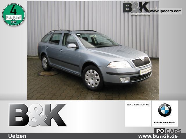 2005 Skoda  OCTAVIA Combi 1.6 Climate, 1 Hand, PDC Estate Car Used vehicle photo