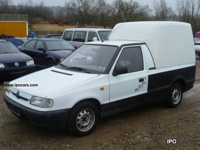 1996 Skoda  Box 1.9 diesel pick-up truck registration Van / Minibus Used vehicle photo