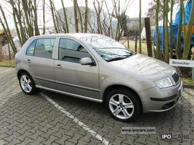 2006 skoda fabia 1 9 tdi car photo and specs. Black Bedroom Furniture Sets. Home Design Ideas
