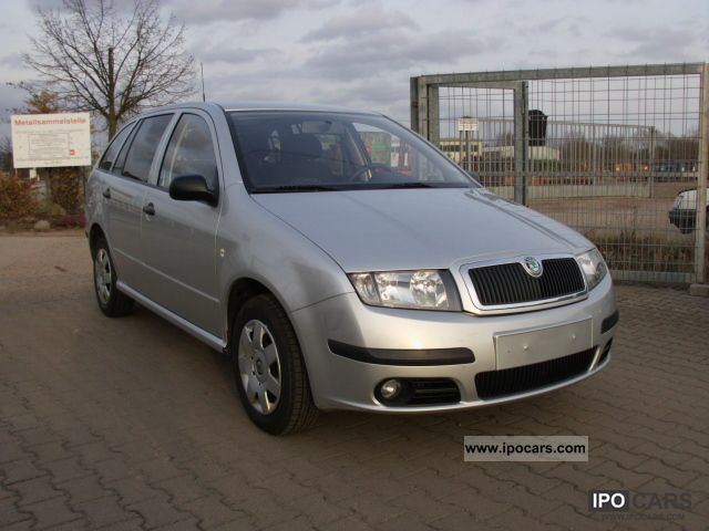 2005 Skoda  Fabia Combi 1.4 16V Elegance .. Tüv new climate .. Estate Car Used vehicle photo