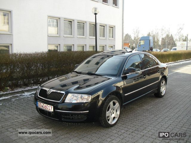 2007 Skoda  Superb Elegance 2.5 TDI Tiptronic FULL Limousine Used vehicle photo